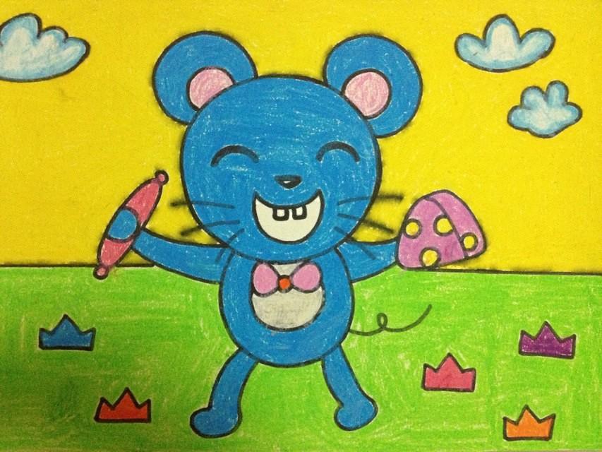 儿童画 853_640图片