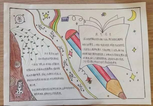 暑假记录册封面手绘