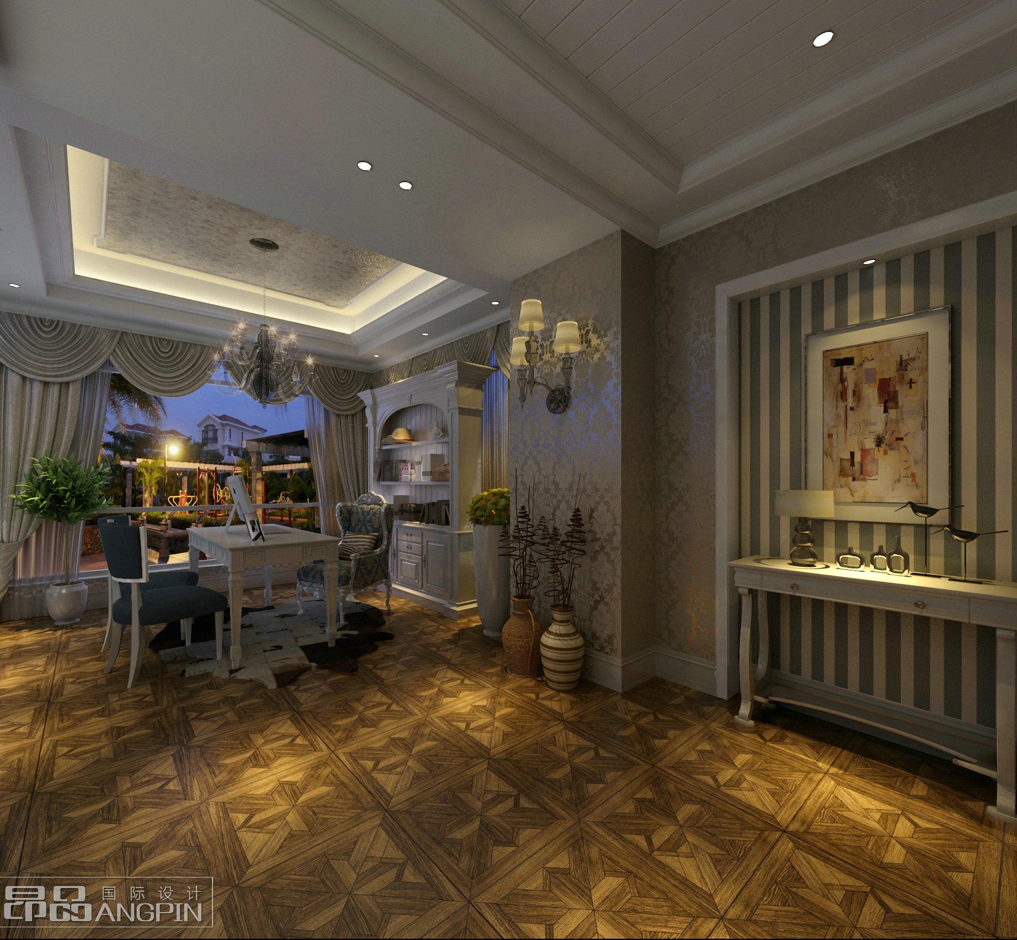 贵阳山地别墅装修,中式,欧式混搭风格设计案例!