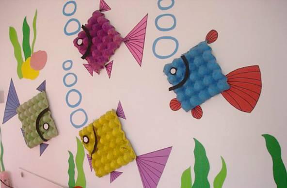 新学期环创这样布置,孩子一定喜欢(背景墙 吊饰 装饰 宣传栏全齐了!图片