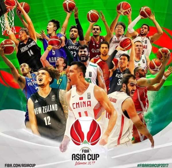 国际篮联发布男篮亚洲杯海报 易建联领衔众星