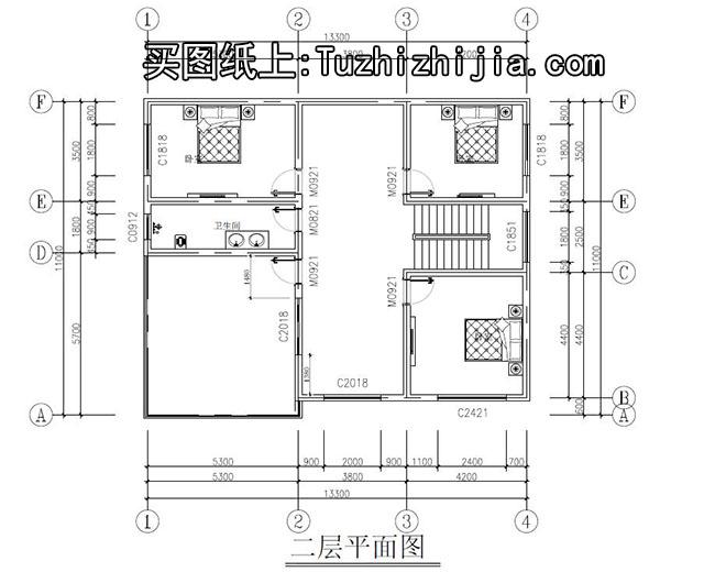 农村二层楼房设计图纸,盖好后让你有面子的户型
