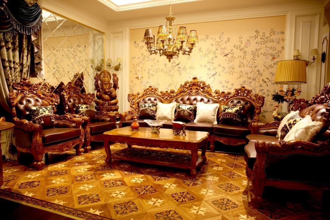奢华浪漫的巴洛克家具