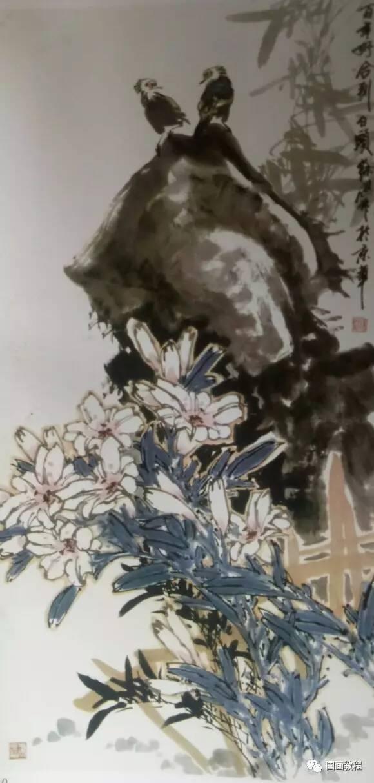 百合花的画法