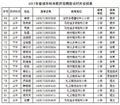 2019山西晉城教師書公告-中國教師資格網
