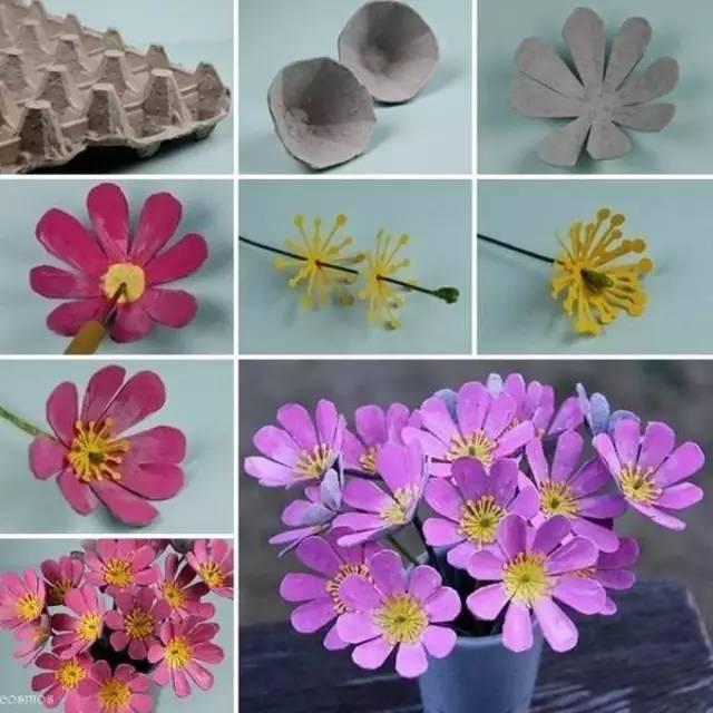 一次性纸杯手工制作墙面装饰太阳花教程 做了这么多春天的小手工,不