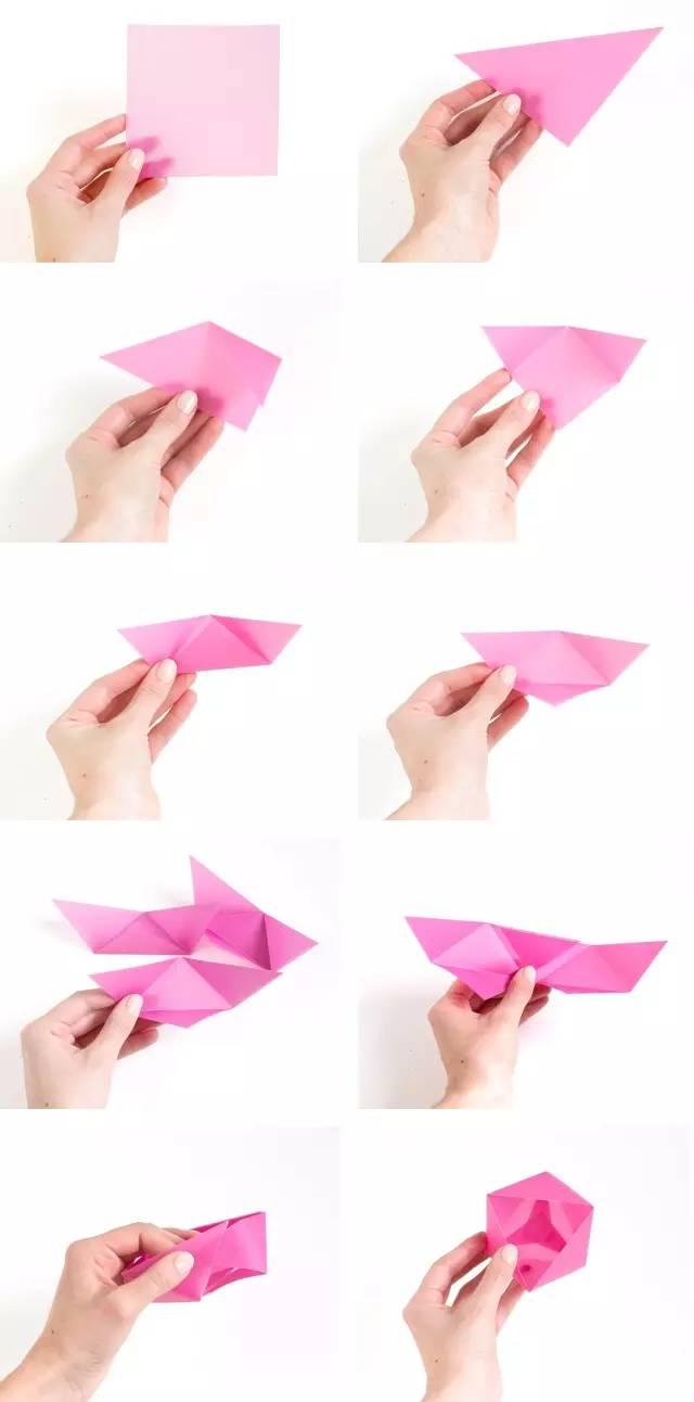 折纸| 10种小盒子折法,收纳盒礼物盒两相宜!