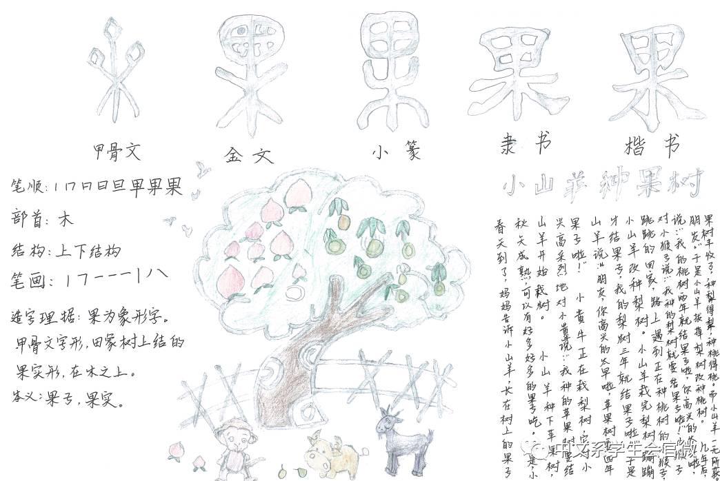 """船字的笔画怎么写-这个暑假,   不要忘了每周五的   我的梨树三年就开始结果子啦.""""于"""