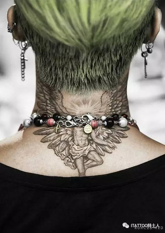 gd的后颈是堕落天使, 天使因为骄傲,跌下神坛, 警戒自己,时时学会