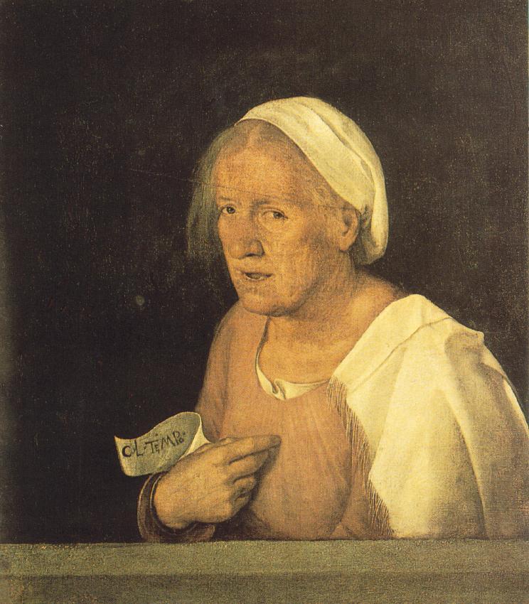 乔尔乔那油画人物作品欣赏