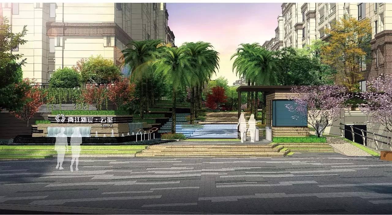 景观指导罗汉园林设计施工龙湖入口大全▲团队棕桐景观俯瞰图设计图字阵列七平房图片