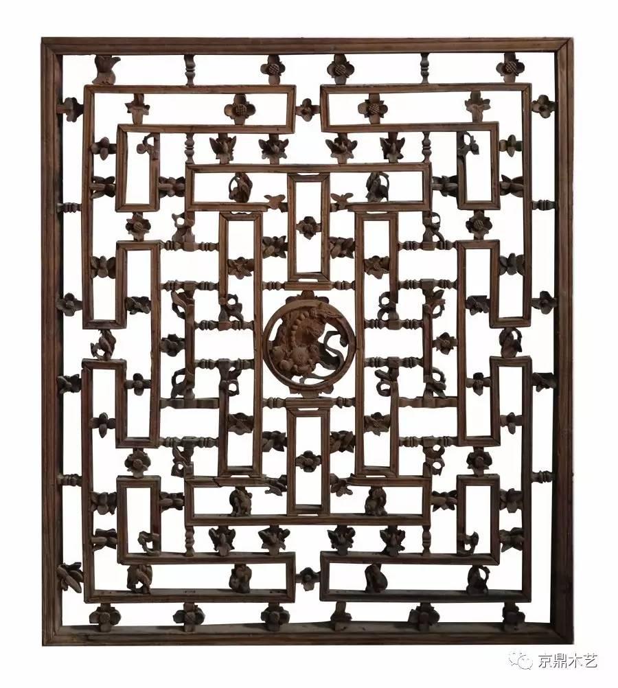 《中国传统窗棂》 人民美术出版社 潘嘉来