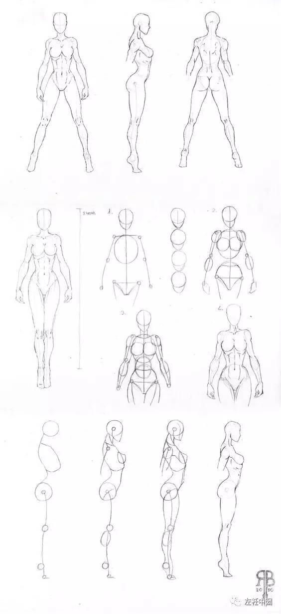 从人体,五官到手脚刻画,150张时装画初学者不可错过的