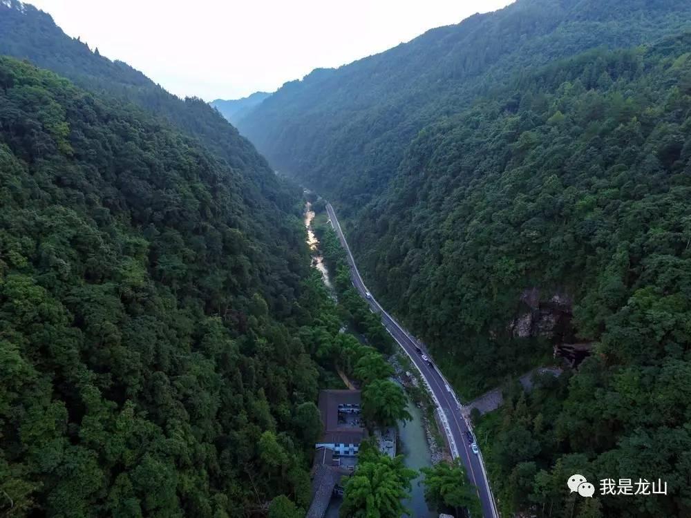 乌龙山大峡谷景区