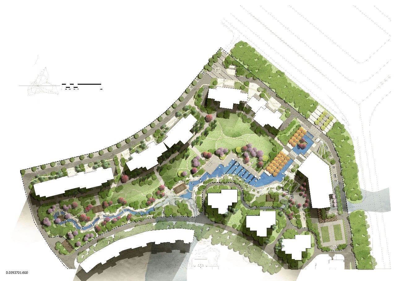 景观设计平面图psd