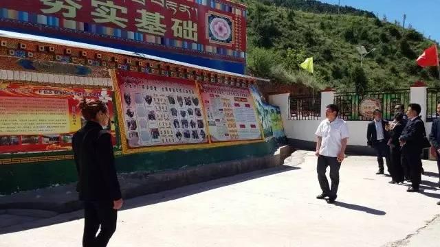 【聚焦】边坝县党务工作者莅临我区参观村级党组织标准化活动场所示范