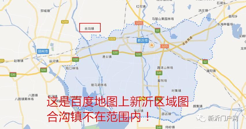 再来看看邳州的地图