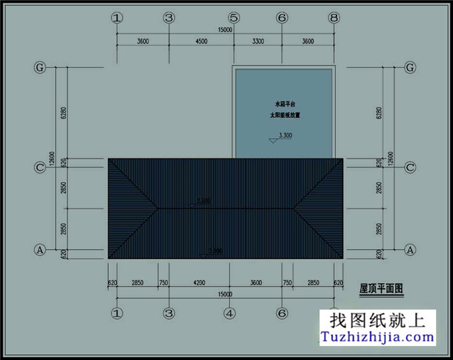 精美:新农村一层平房施工设计图纸 效果图展示!