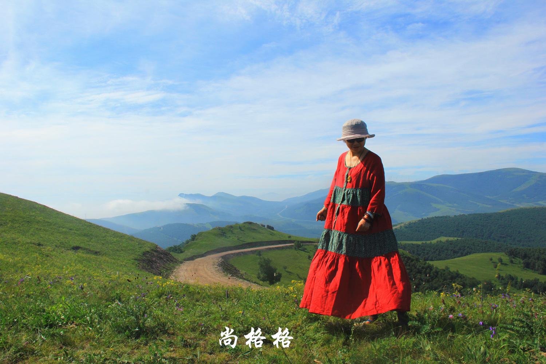 带你去凉爽唯美的坝上草原 京北第一天路
