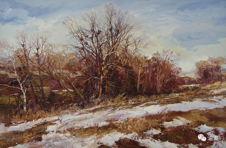 Мусин Ирик Рашидович 他的笔下的风景油画作品