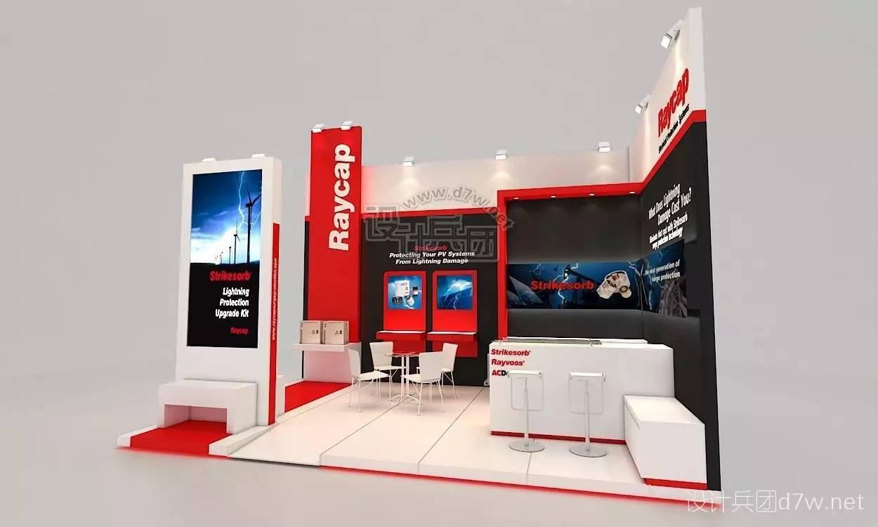 桁架36平_18平米展台设计方案_18平米展台设计方案分享展示