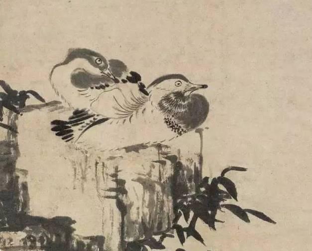古代简笔画 小动物