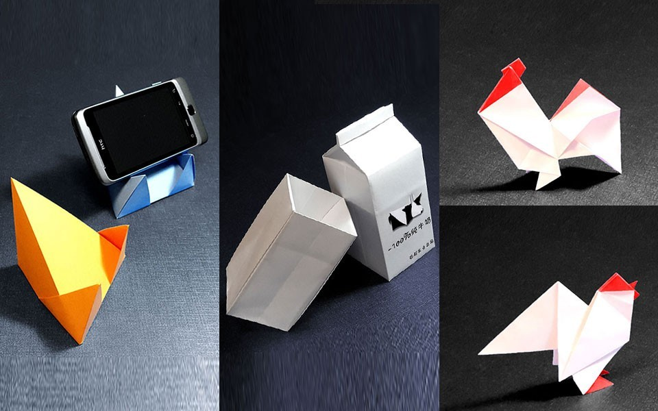 简单折纸龙步骤图解