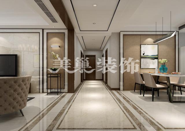 安阳 万城华府 三室两厅 新中式 装修效果图案例