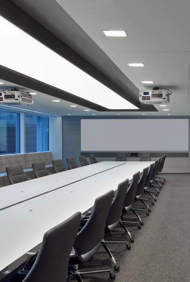 合肥投资公司办公室顶面装修
