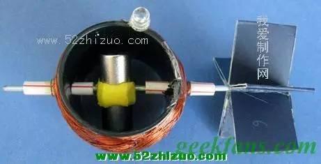 diy风力涡轮发电机图片