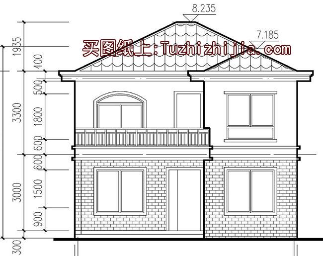 0万造 经典小户型新农村房屋住宅设计图