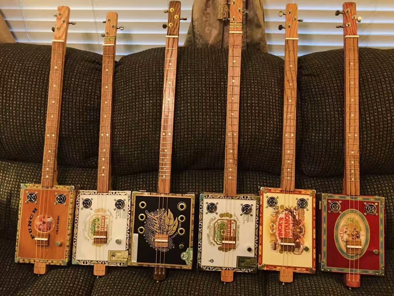 用雪茄盒做一把吉他 - 日记 - 豆瓣