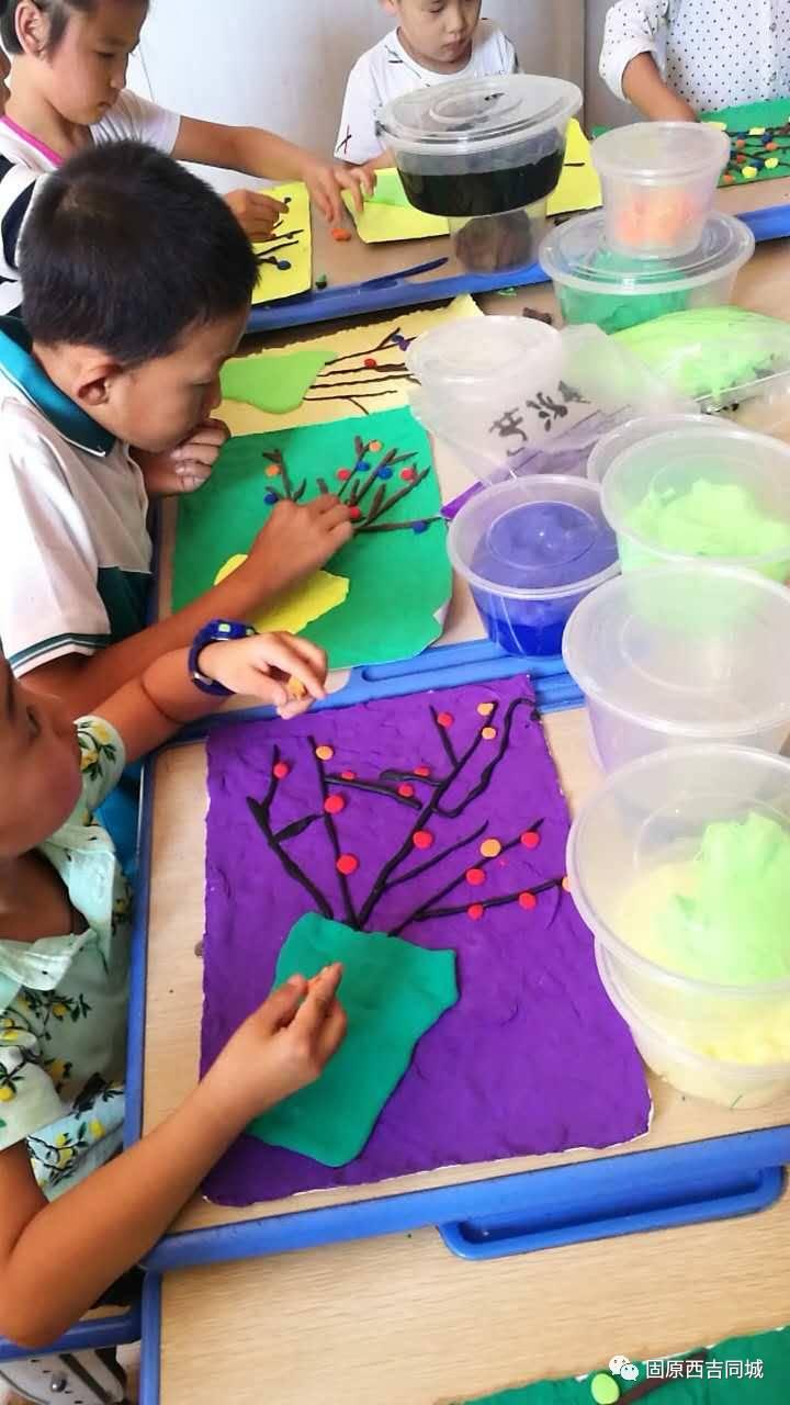 教育 正文  备注:水彩笔纸 粘土及手工制作所需材料我们提供  小不点