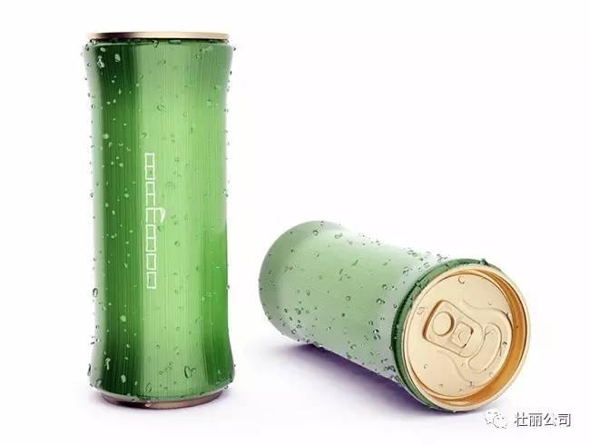 『饮料』易拉罐竹子型设计