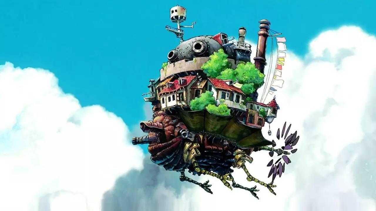 宫崎骏一生最满意的作品 哈尔的移动城堡图片