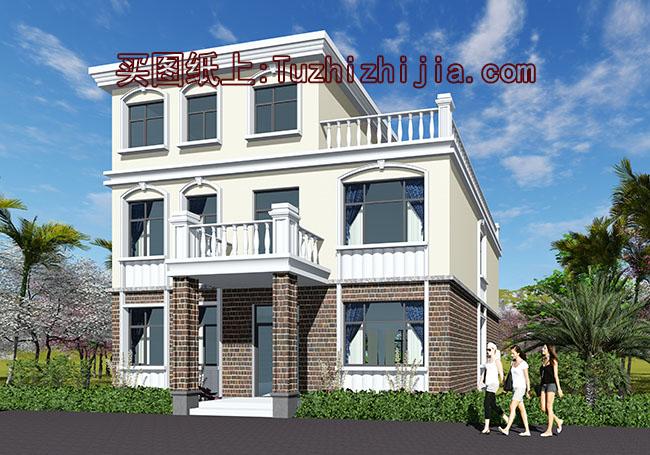 二层图纸房屋半大别墅复式设计图-建房机械v二层客厅规范图片