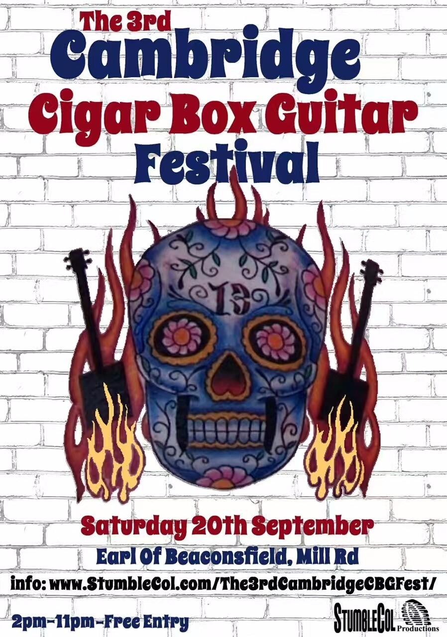 雪茄盒电吉他