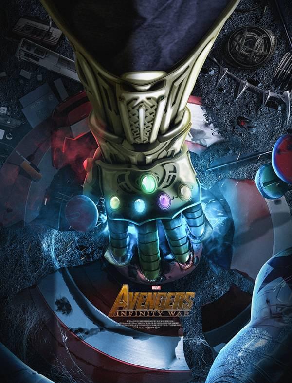 拥有无限手套的灭霸,狂揍复仇者联盟 银河护卫队
