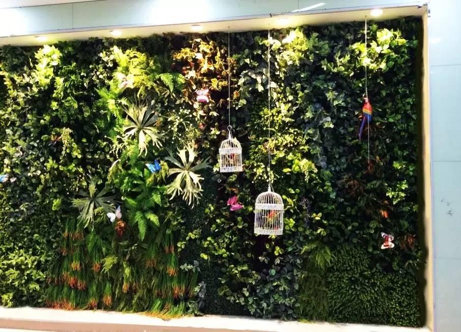 花墙 景观 墙 植物 906_654