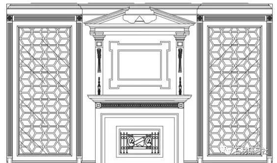 护墙板主要分风格主要有中式,新中式,欧式(巴洛格风格,洛可可风格,新