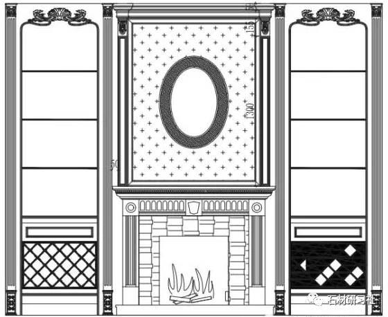 护墙板主要分风格主要有中式,新中式,欧式(巴洛格风格,洛可可风格