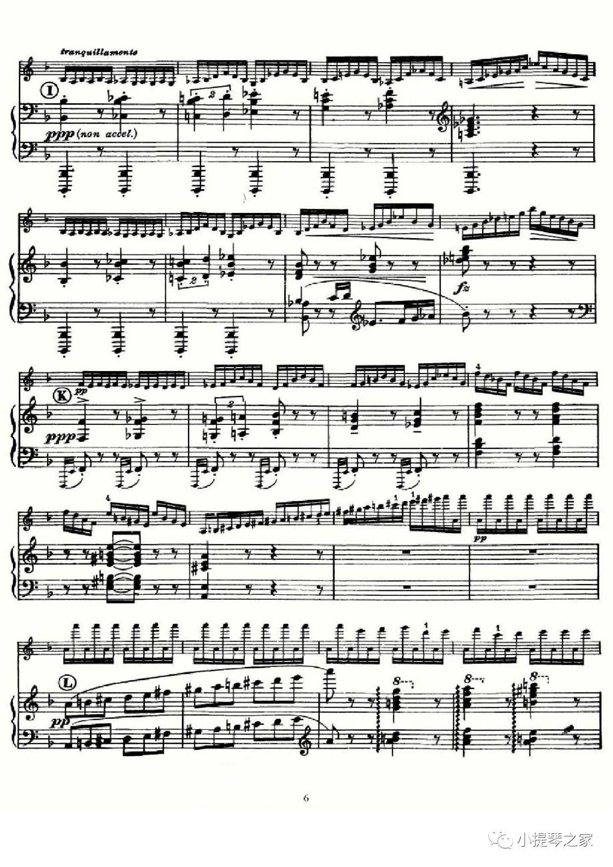 克 无穷动 附小提琴谱
