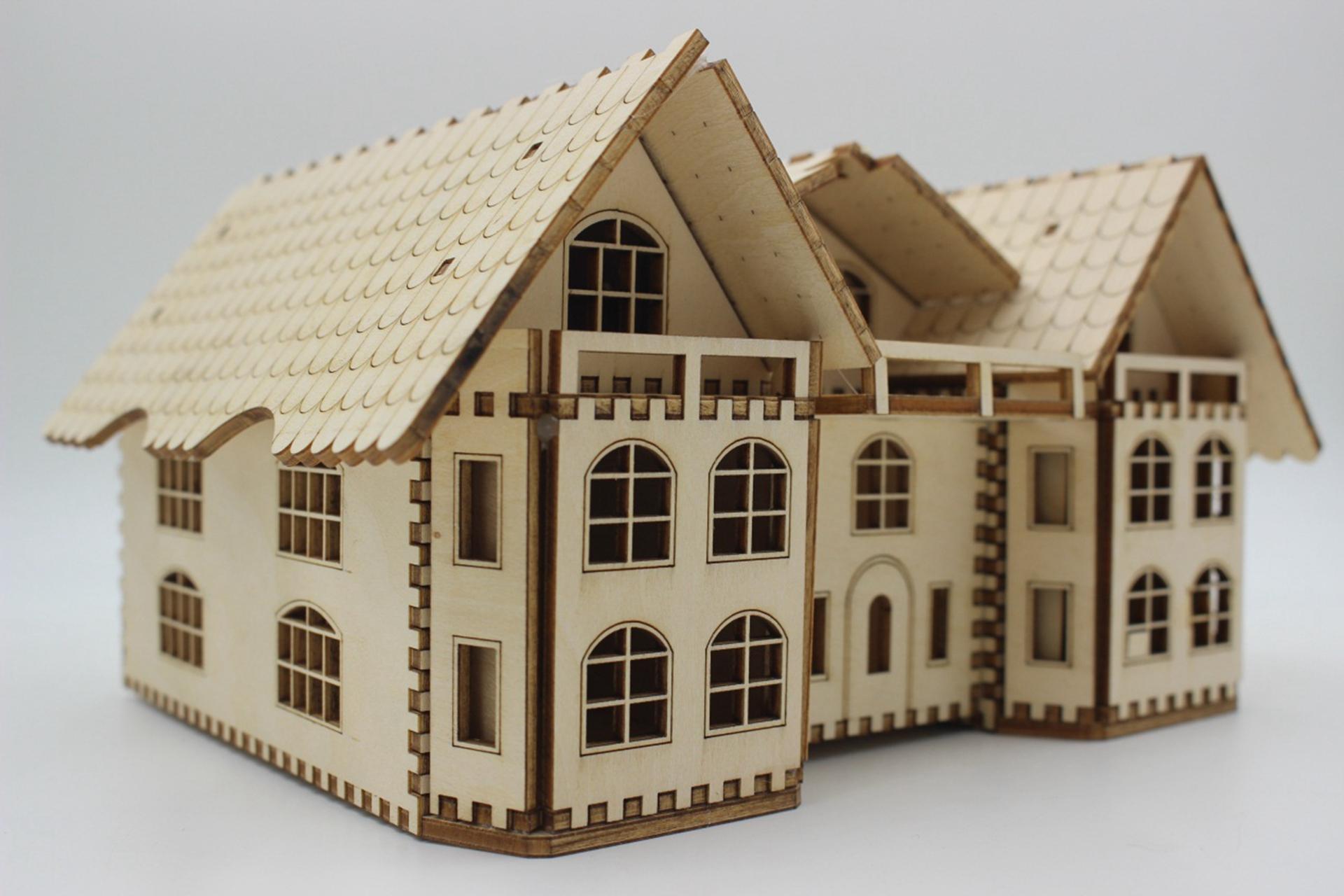 房子储蓄激光切割设计图