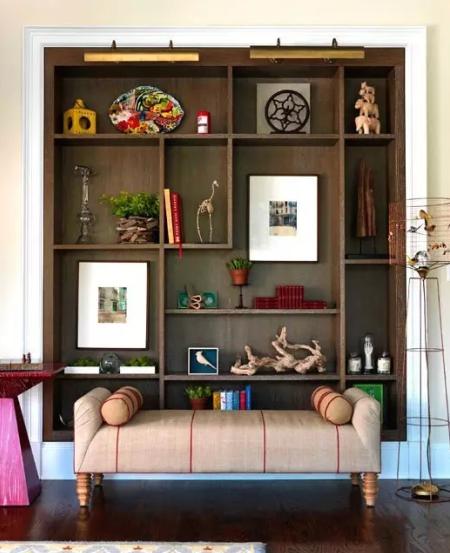 十二种书架设计,完爆你的万元家居
