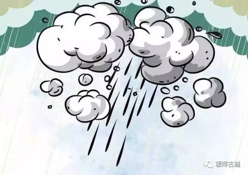 温馨提示|暴雨来袭,注意防范图片