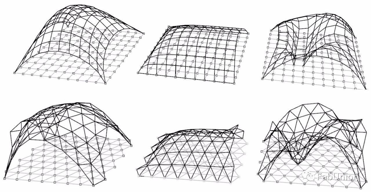 室外建构图手绘线稿