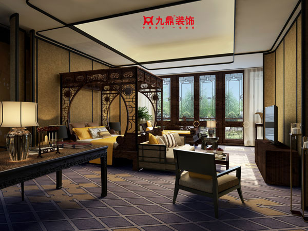 新中式别墅如何装修设计