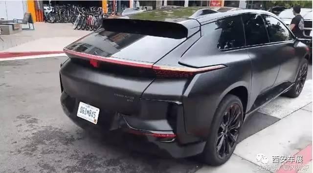 产豪华SUV 乐视F911 现身街头高清图片