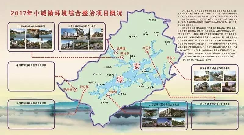 千岛湖房地产开限有限公司负责实施的小城镇环境综合整治项目涉及大墅