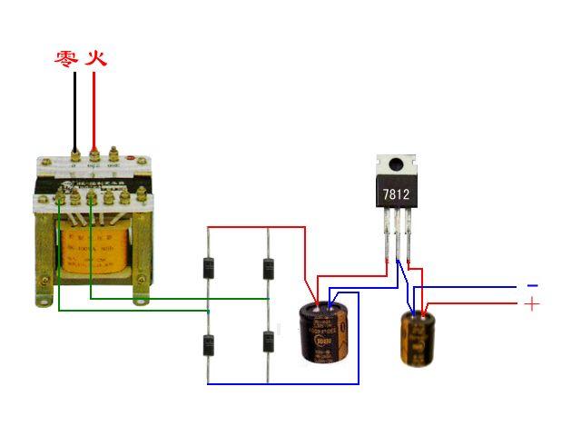 220v接触器1210接线图